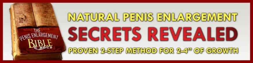 How to grow penis naturally